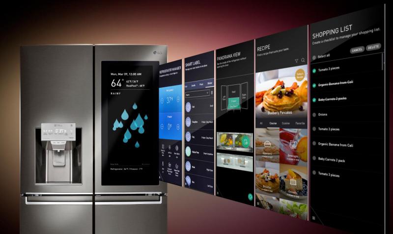 LG instaView Door in Door y Alexa