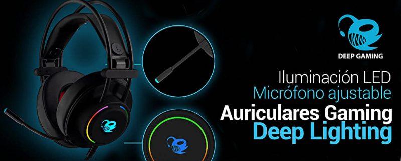 CoolBox-DeepLighting Auriculares-gaming