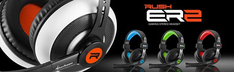 Sharkoon-ER2 Cascos para Gamers