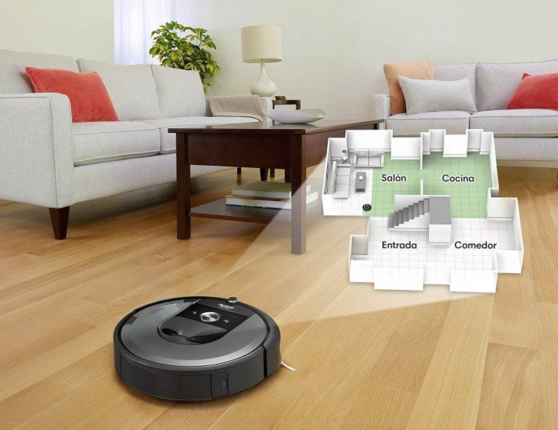 mapeo robot aspirador